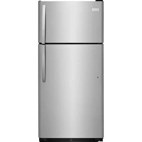 frigidaire 18 cu ft top freezer refrigerator in