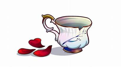 Rumbelle Chipped Cup Fanart Draw Exclusively Able