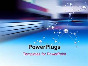 powerpoint template a number of bonds with multicolored With powerplugs powerpoint templates