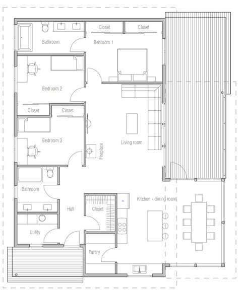 house design modern house ch47 11 House plans Small