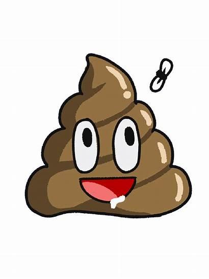 Poop Kawaii Clipart Face Transparent Sticker Webstockreview