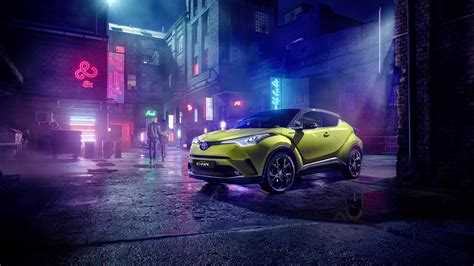 Toyota Chr Hybrid 4k Wallpapers by Toyota C Hr Neon Lime Powered By Jbl 2019 4k Wallpaper