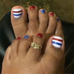 Of july toe nails art designs ideas fabulous nail