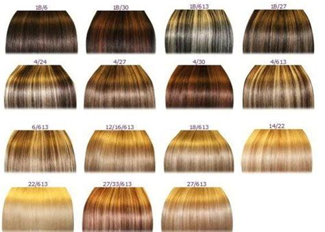 Hair Color Types by Different Shades Of Hair Ideas Hair Colors