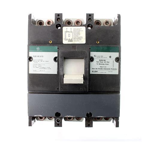 ge tjj436y400 molded switch circuit breaker 400