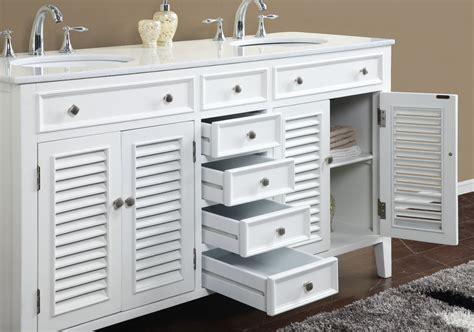 60 inch bath vanity double sink adelina 60 inch antique white double sink bathroom vanity