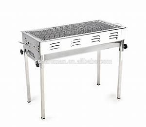Grille De Barbecue Grande Taille : grande taille rectangulaire en acier inoxydable barbecue ~ Melissatoandfro.com Idées de Décoration