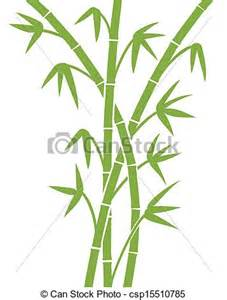 Bamboo Leaf Silhouette Clip Art