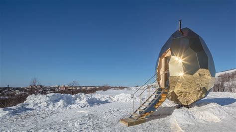 Solar Egg In Kiruna by Solar Egg Sauna Is Worth Traveling To Sweden For The Manual