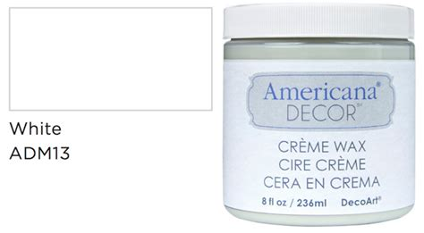 Americana Decor Creme Wax Application by Decoart 2016 New Decoart Products Color Additions