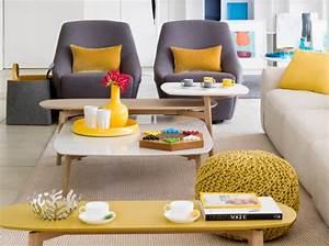 Décoration Salon Jaune Moutarde : deco chambre jaune moutarde visuel 2 ~ Melissatoandfro.com Idées de Décoration