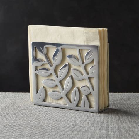 Botanical Napkin Holder   Reviews   Crate and Barrel