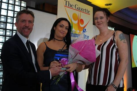 rebecca henderson billingham the gazette community chion awards these are the most