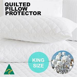 2x standard waterproof european v shape tri king size With european pillow protector