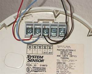 Fire Alarm Smoke Detector Wiring Diagram