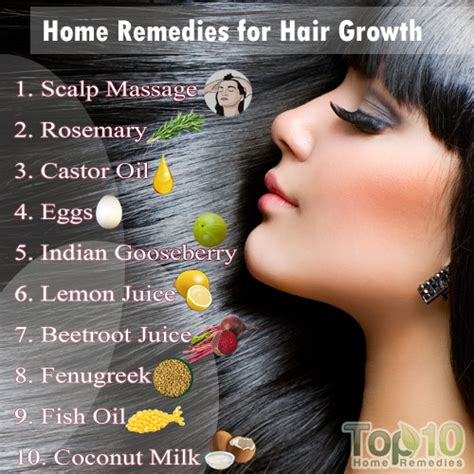 Natural Remedies For Hair Growth - All For Fashions