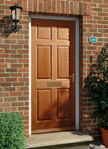 Homeserve Securityoak External Doors  Oak Doors Front