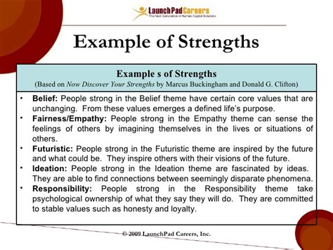 Questions Strengths And Weaknesses Exles by Exles Professional Strengths Template