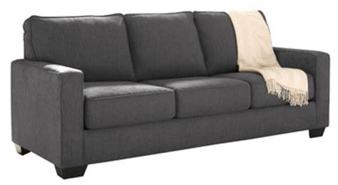 zeb queen sofa sleeper zeb queen sofa sleeper in charcoal gray by ashley home