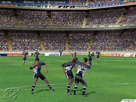 fifa 00 screenshots wallpapers pc ign
