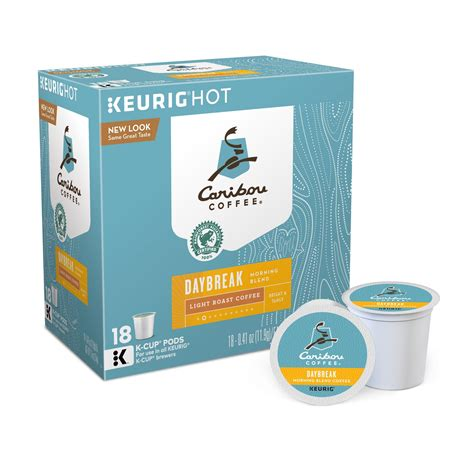 © 2021 caribou coffee operating company, inc. Caribou Coffee Daybreak Morning Blend Light Roast Coffee - Keurig K-Cup Pods - 18ct   Caribou ...