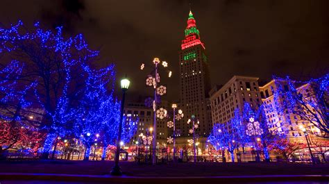 christmas lights in ohio winter fun all month long in dtcle our dynamic downtowncle