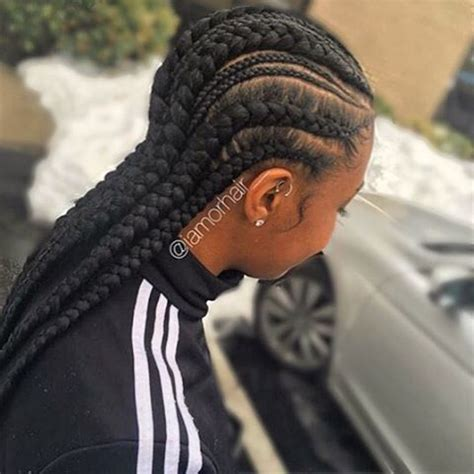 super cute  creative cornrow hairstyles