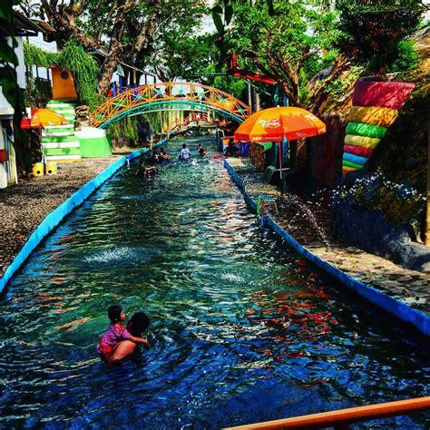 wisata watergong klaten waterboom air sungai alami