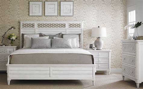 Coastal Bedroom Furniture Sets by Coastal Living Parchment Cypress Grove Wood Panel Bedroom