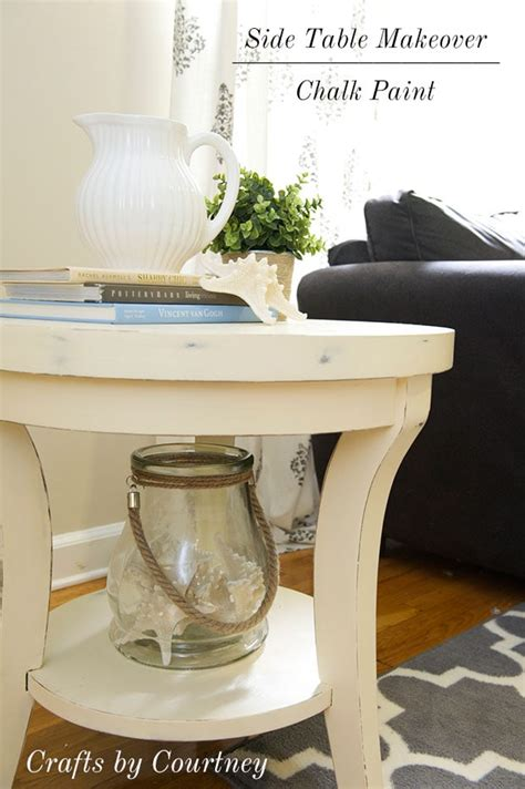 easy side table makeover fun  chalk paint
