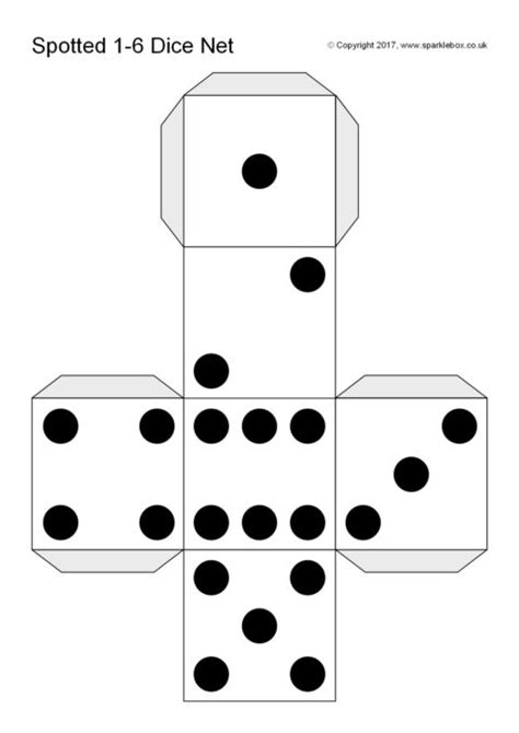 Dice Template Preview