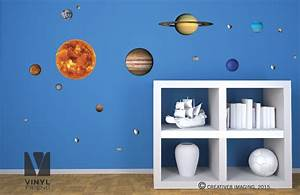 wall decal educational solar system wall decals 3d solar With educational solar system wall decals