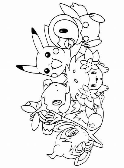 Pokemon Ausmalbilder Malvorlagen Malvorlage
