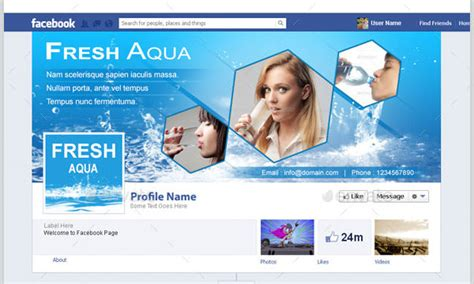 Business facebook cover template costumepartyrun free online facebook templates cheaphphosting Images