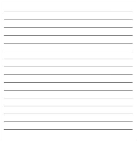 lined paper template 14 word lined paper templates free premium templates