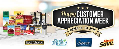Happy Customer Appreciation Week! - Superior Selections Brand