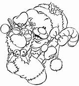 Noel Cadeau Dessin Pimboli Coloring Pergamano Coloriage Weihnachten Ausmalen Colorier Zum Imprimer Ausmalbilder Kerst Sablon Ours Maci Cadeaux Kleurplaten Bas sketch template