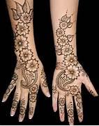 latest floral henna de...