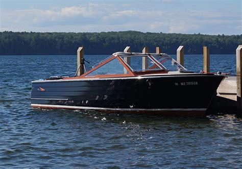 century ladyben classic wooden boats  sale