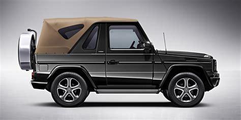 mercedes jeep convertible mercedes benz considering new convertible suv gtspirit