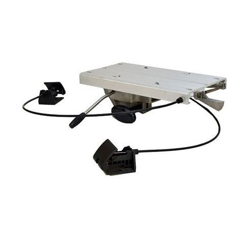 Attwood Boat Seat Swivel by Attwood Swivl Eze 2 3 8 Cable Operate Boat Seat Pedestal