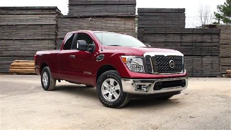 2018 Nissan Titan King Cab Test Drive Exterior And