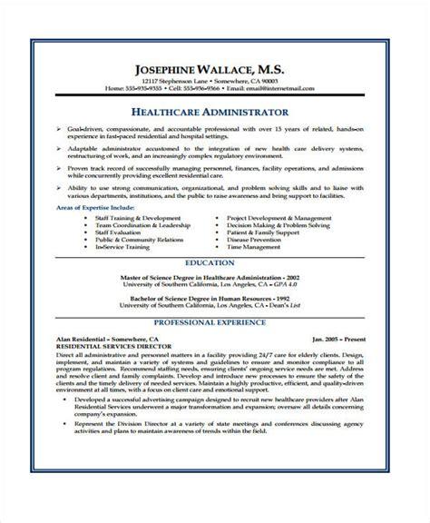 health care curriculum vitae templates  sample  format