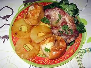 Cotes De Porc Au Four : recette de c tes de porc grill es ananas et pommes au four ~ Farleysfitness.com Idées de Décoration