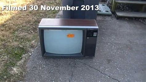 The 1986 Jcpenney Tv Model 685-2117