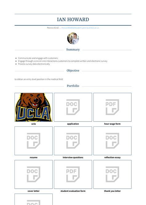 zookeeper resume samples  templates visualcv