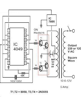 Simple Watt Inverter Citcuit Using Diy