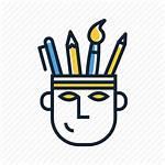 Creative Icon Creativity Thinking Artistic Mind Icons