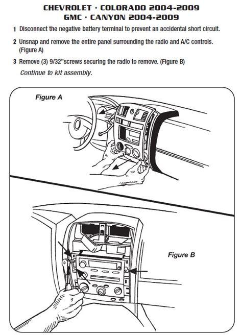 Chevrolet Coloradoinstallation Instructions