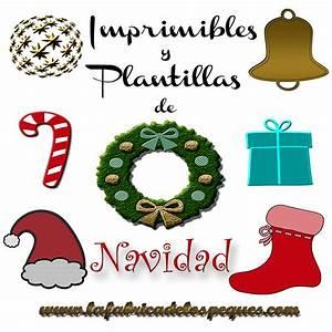 Imprimibles y plantillas de Navidad gratis: Gorros, calcetines y adornos La fábrica de los peques